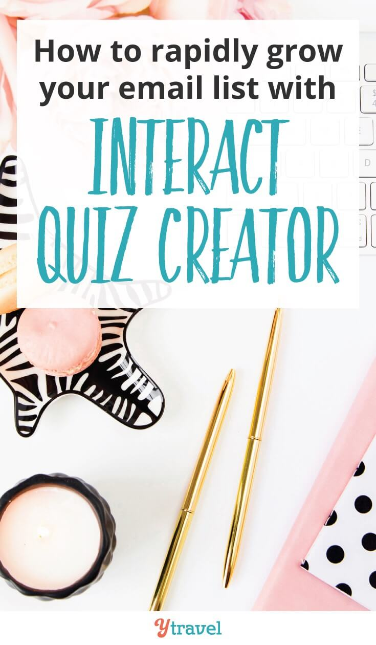 How to Rapidly Grow Your Email List With Interact Quiz Creator