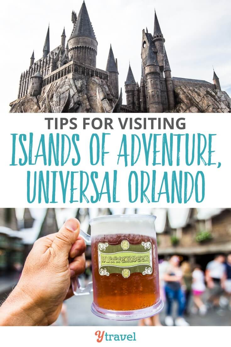 Tips for visting Islands of Adventure, one of the three theme parks at Universal Orlando Resort in Florida. With the Hulk roller coaster and Hogsmead in the Wizarding World of Harrry Potter it is a fun place for kids