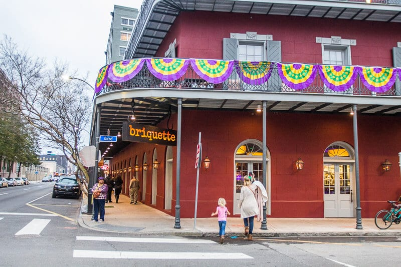 Briquette Restaurant in New Orleans