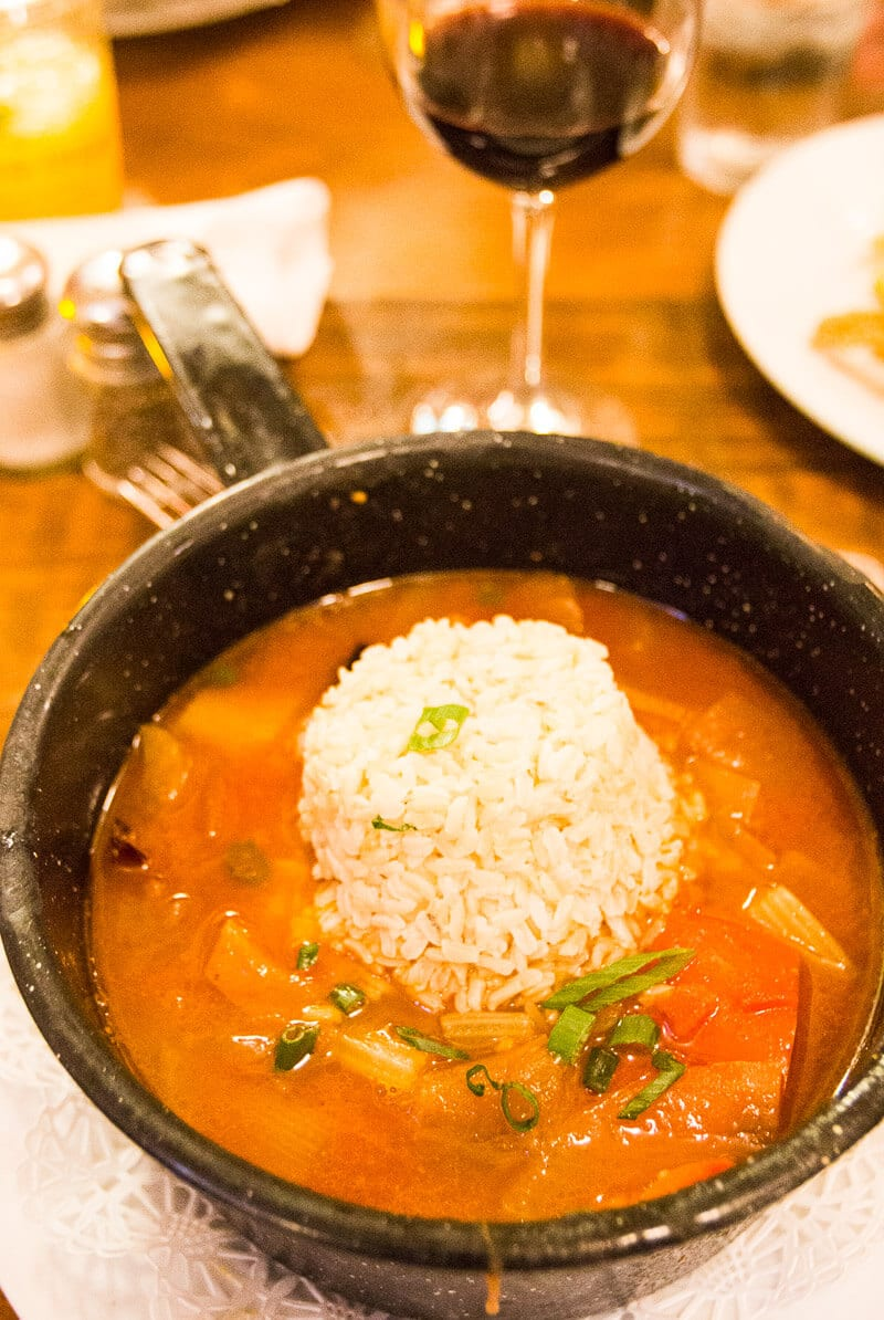 Places to eat in New Orleans - Try this Fishermen's Stew at the Grande Isle Restaurant & Oyster Bar