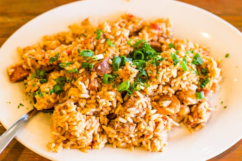 Jambalaya at Joey K's Restaurant & Bar in New Orleans