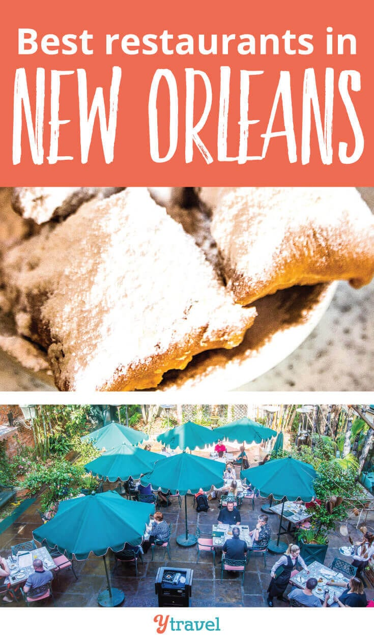 Places to eat in New Orleans. Put these 11 New Orleans Restaurants on your itinerary for your trip to New Orleans to taste some of the best food in the USA.