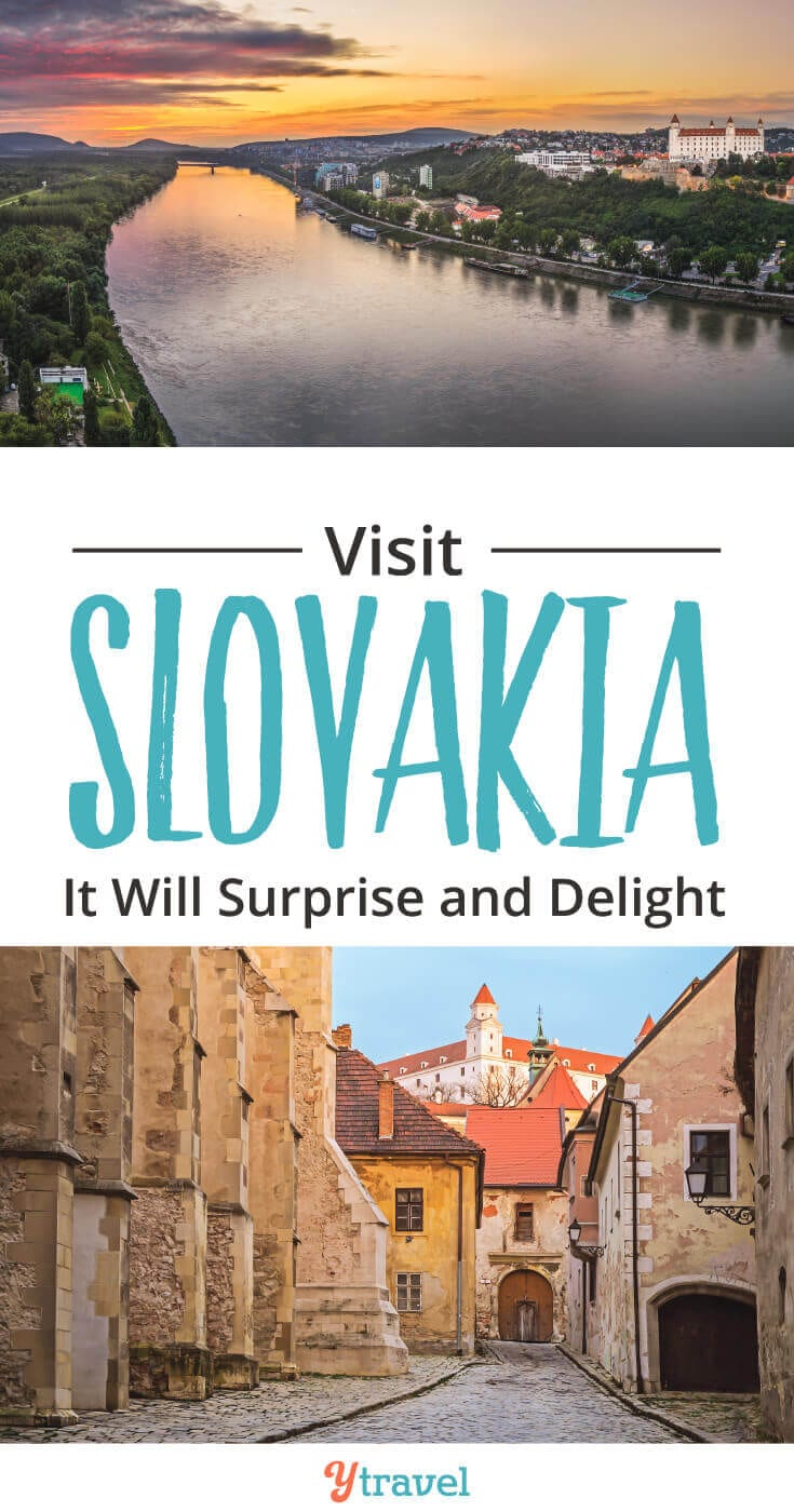 2 places to visit in Slovakia, including things to do in Bratislava and the High Tatras.This country in Europe will surprise and amaze you!