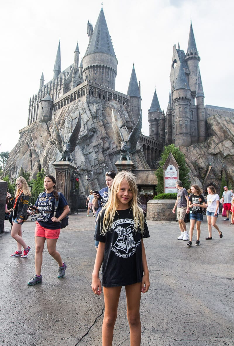 Hogwarts Castle at The Wizarding World of Harry Potter in Universal Orlando