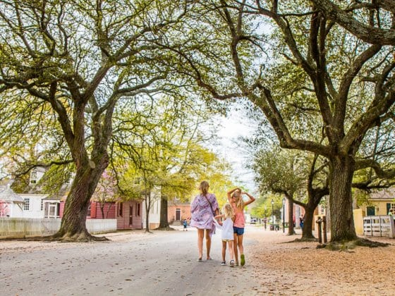 10 things to do in Williamsburg with kids