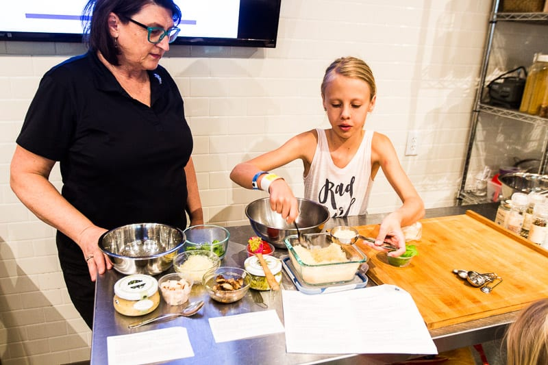 Cooking class at VomFASS, Mall of America