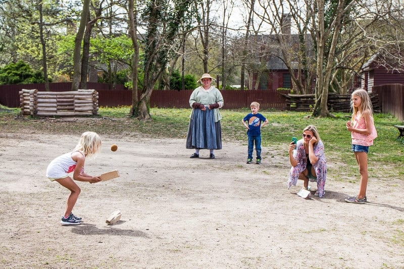 Patriots at play Colonial Williamsburg for kids