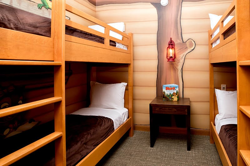 Queen Kid Cabin Suite - Great Wolf Lodge, Minnesota