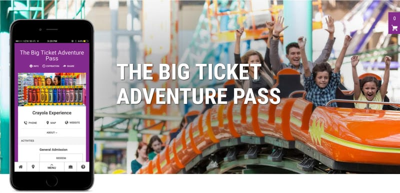 Big ticket attractions pass