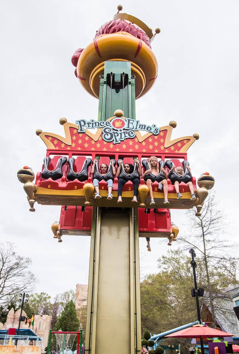 Busch Gardens Williamsburg - Prince Elmo's Spire