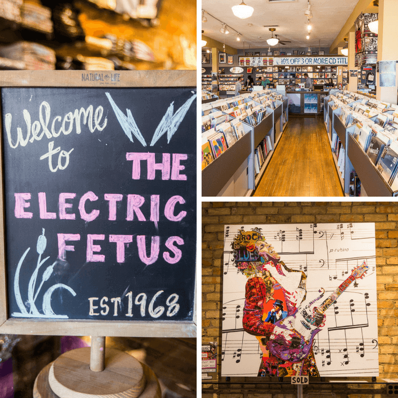 Electric Fetus Record Staore