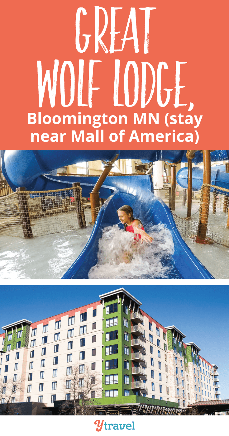 Great Wolf Lodge in Minnesota, is a great family-friendly hotel right near Mall of America. If you're planning a trip to Minneapolis with kids, consider staying here. Come see why, click inside!
