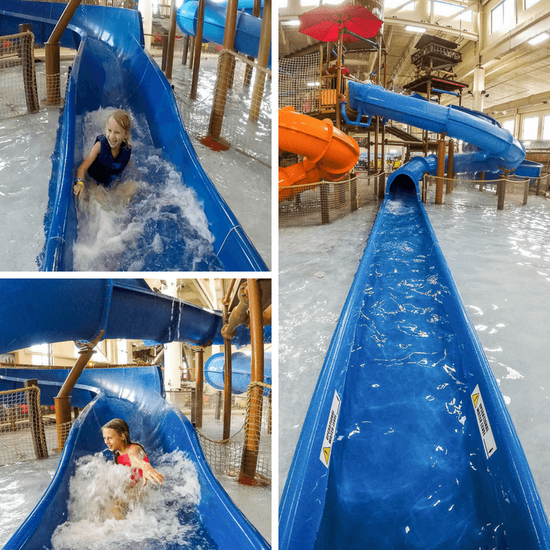 Great Wolf Lodge water slides, Bloomington, MN