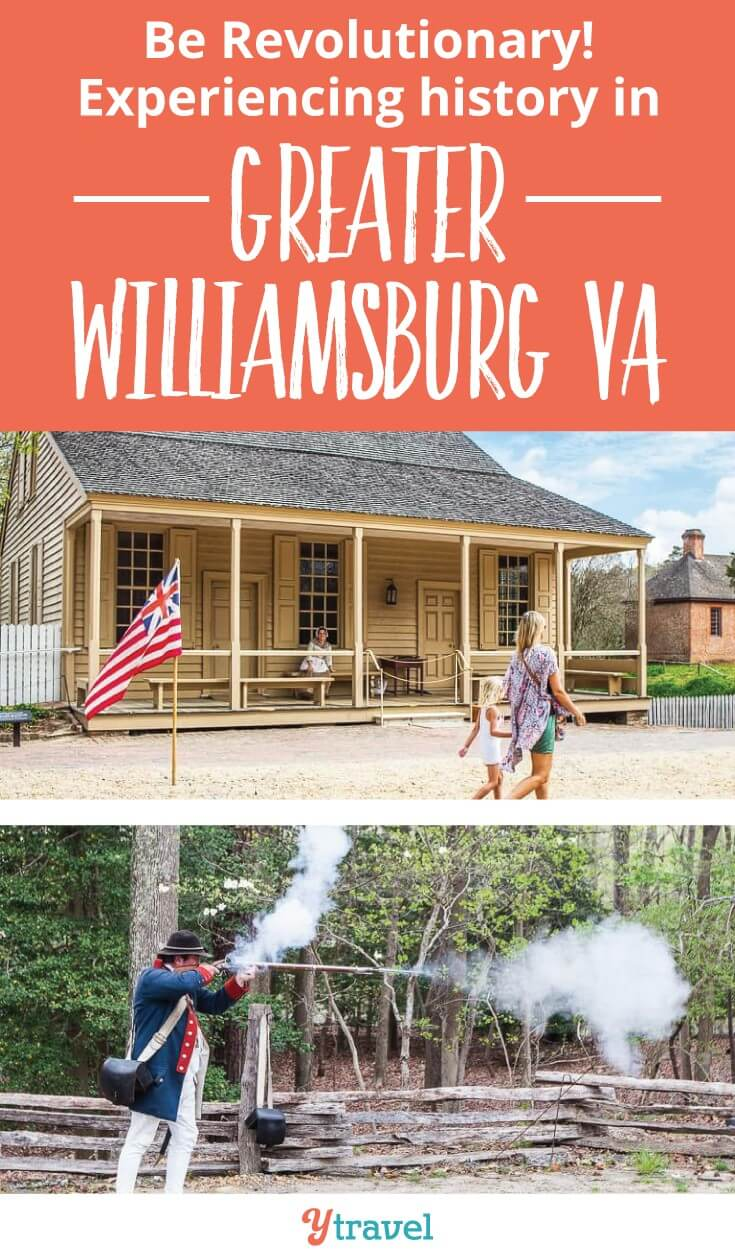 Planning to visit Greater Williamsburg with kids? It's a US historic region worth exploring. See things to do at Colonial Williamsburg, Jamestown Settlement and Yorktown Battlefields and American REvolution Museum. Click to read more. Happy pinning