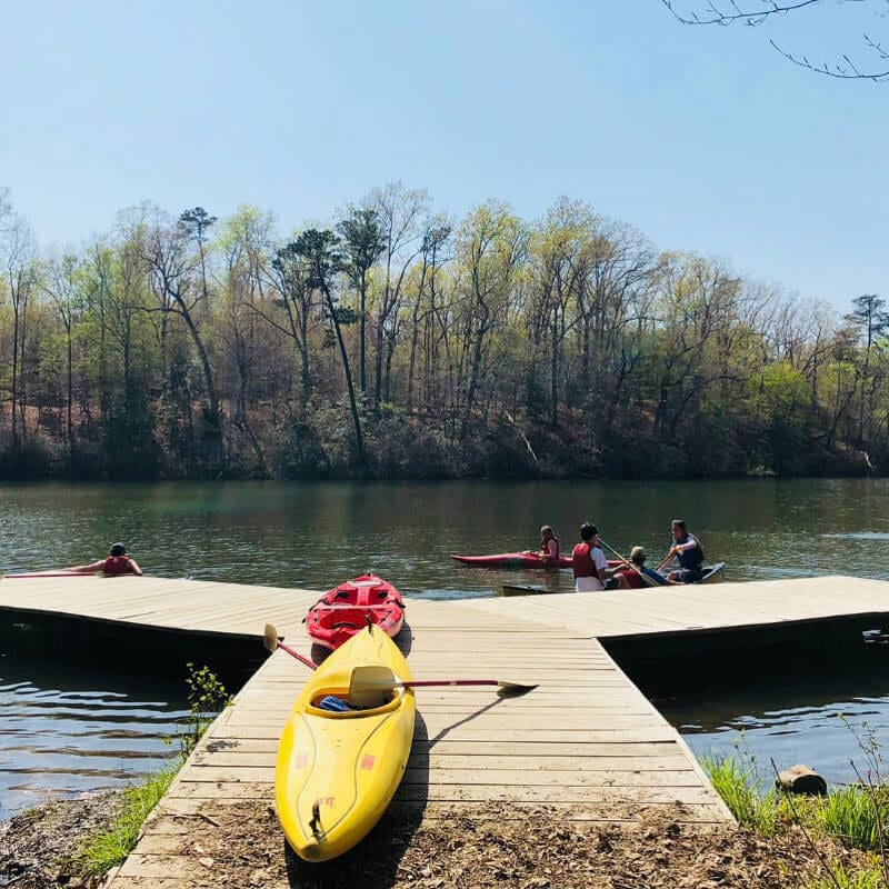 Kayaking in Williamsburg VA