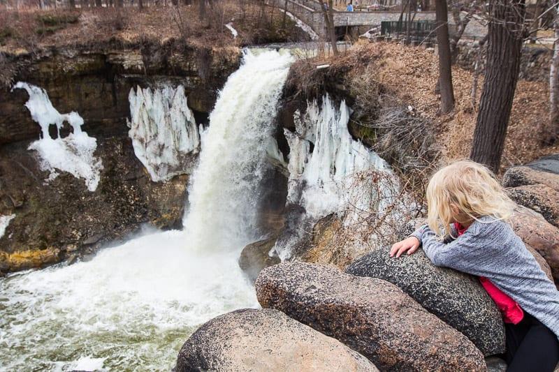 Minnehaha Falls, Minneaplois