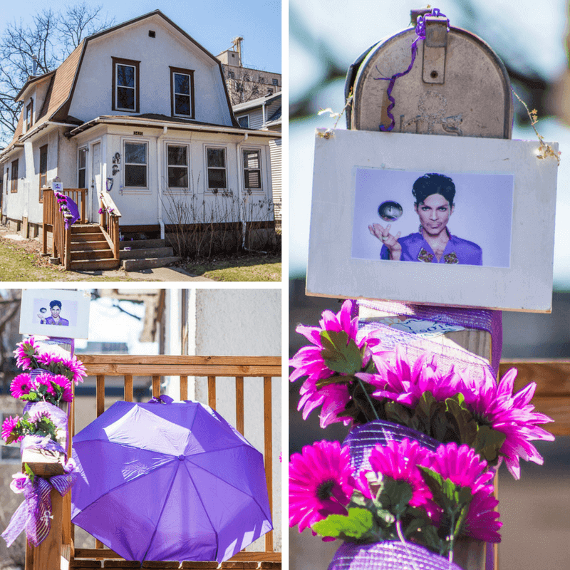 Prince house from Purple Rain