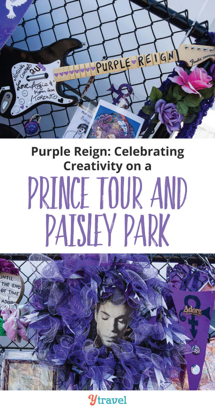 Paisley Park, the former home and music studio of Prince, is an amazing tour and experience. Plus a Prince Tour around Minneapolis to see Prince's home, places he performed, and his favorite places he used to hang out at. A must do in Minnesota!