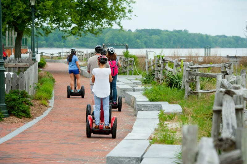 Segway tour of Williamsburg VA