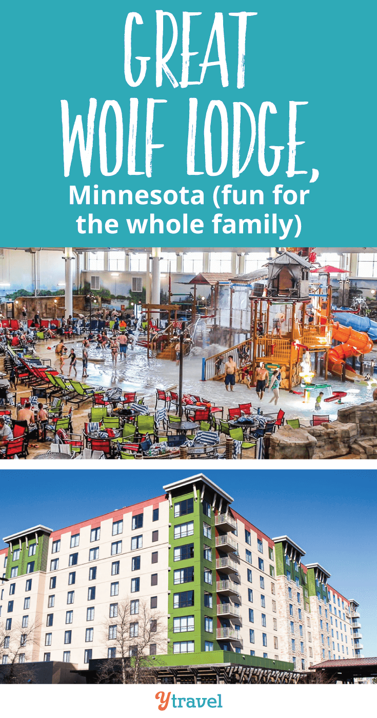 Great Wolf Lodge in Bloomington, Minnesota, is a great family-friendly hotel right near Mall of America. If you're planning a trip to Minneapolis with kids, consider staying here. See why inside!