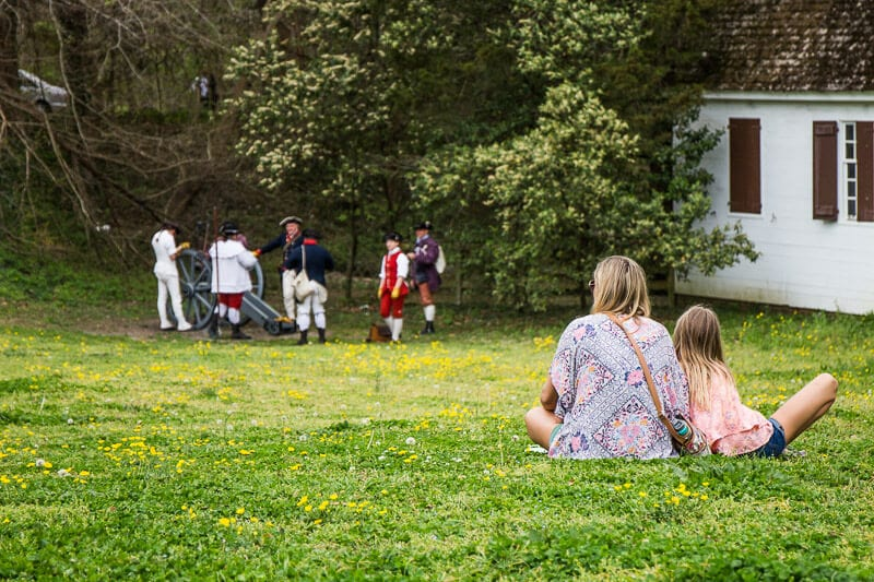 things to do in Colonial Williamsburg with kids
