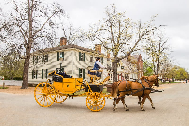 Colonial Williamsburg is one of the top things to do in Williamsburg, VA