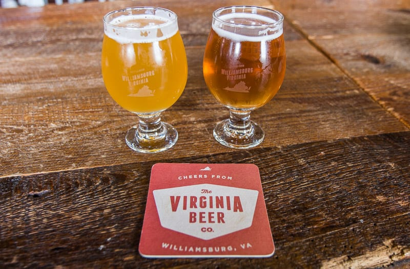 Virginia Beer Company, Williamsburg