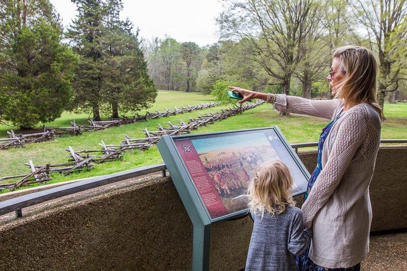 Yorktown Battlefield Drive