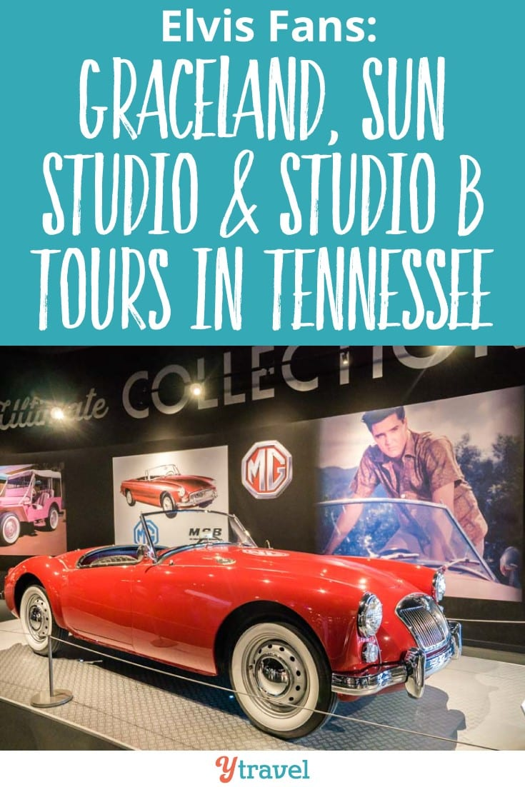 Elvis Presley Tours MEmphis and Nashville Tennessee. Visit Graceland, Memphis and learn more about Elvis' transformative spirit. The Elvis PResley trail doesn't end there. Sun Studios in Memphis is where it all began for him and Studio B in Nashville is where most of his hit songs were recorded. I love learning more about his life and legacy in Tenneseee