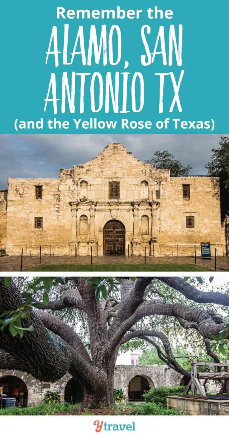 On our USA road trip from Dallas to Boston, we visited San Antonio to fulfil my Dad's dream of seeing the Alamo. Remember the Alamo and the Yellow Rose of Texas, which the Emily Morgan Hotel, an official Alamo hotel is named after.