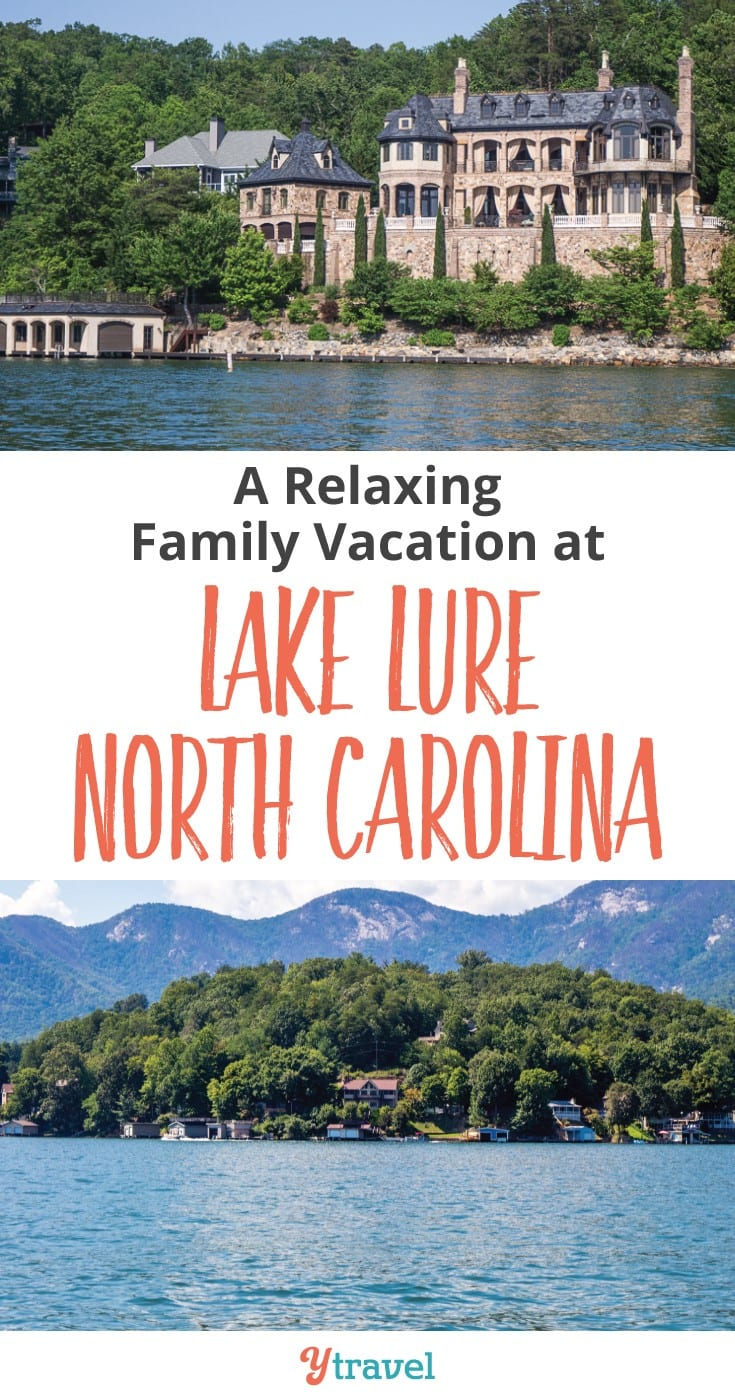 Planning a relaxing family vacation to Lake Lure in North Carolina? Here's our tips on things to do at LAke Lure and Chimney Rock state park. It's a fantastic place for hiking, supping, boat cruises, and swimming at the beaches. Click to read more
