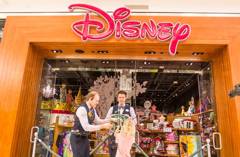 DIsney Store au Mall of America, ouverture !