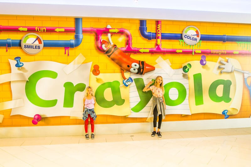 Crayola, Mall of America