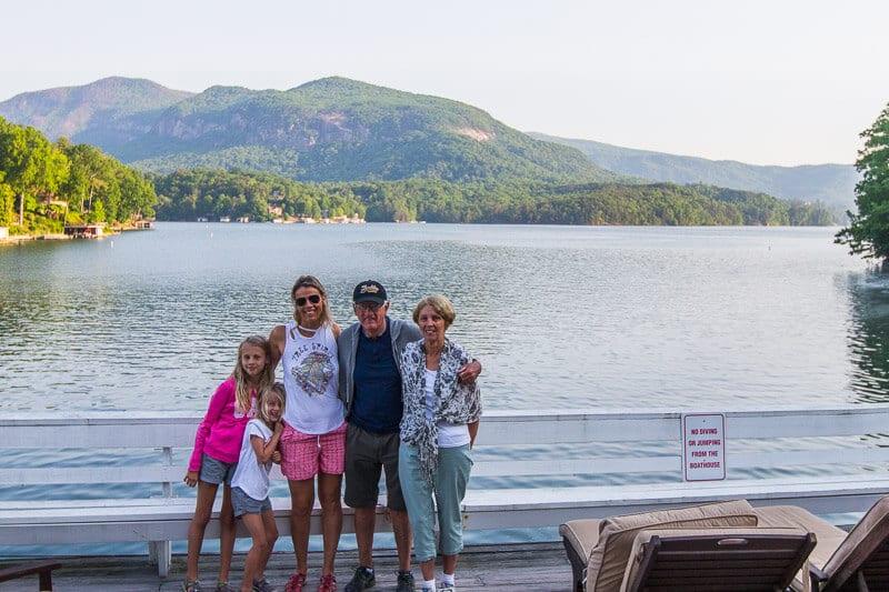 Lodge on Lake Lure views