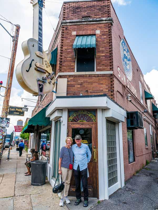 Sun Studio tour Memphis Tennessee
