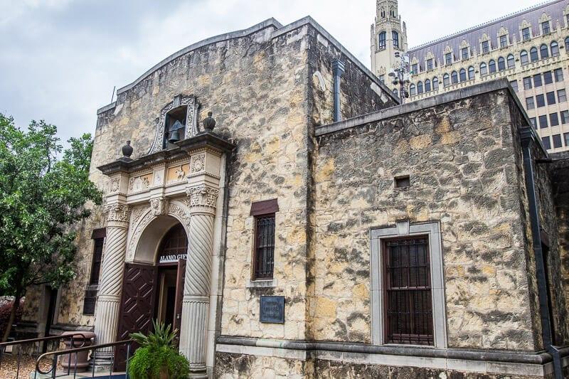 The Alamo San Antonio TX
