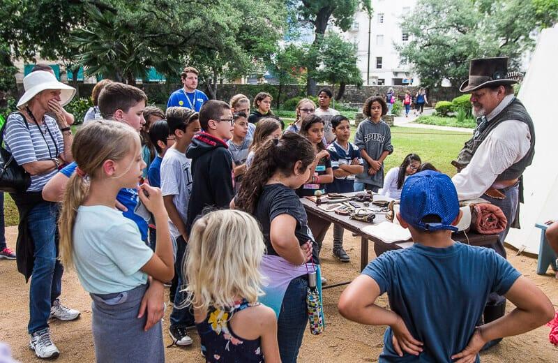 The Alamo San Antonio with kids