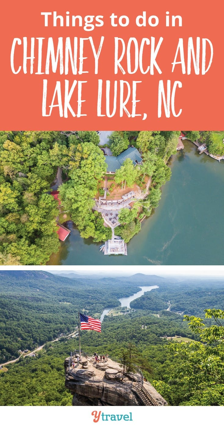Things to do in Chimney Rock And Lake Lure NC. Lake Lure near Ashville North Carolina is one of my favorite places in the US. Check out this post for getting the most out of your family vacation to LAke Lure and Chimney Rock STate Park where Last of the Mohicans was filmed.