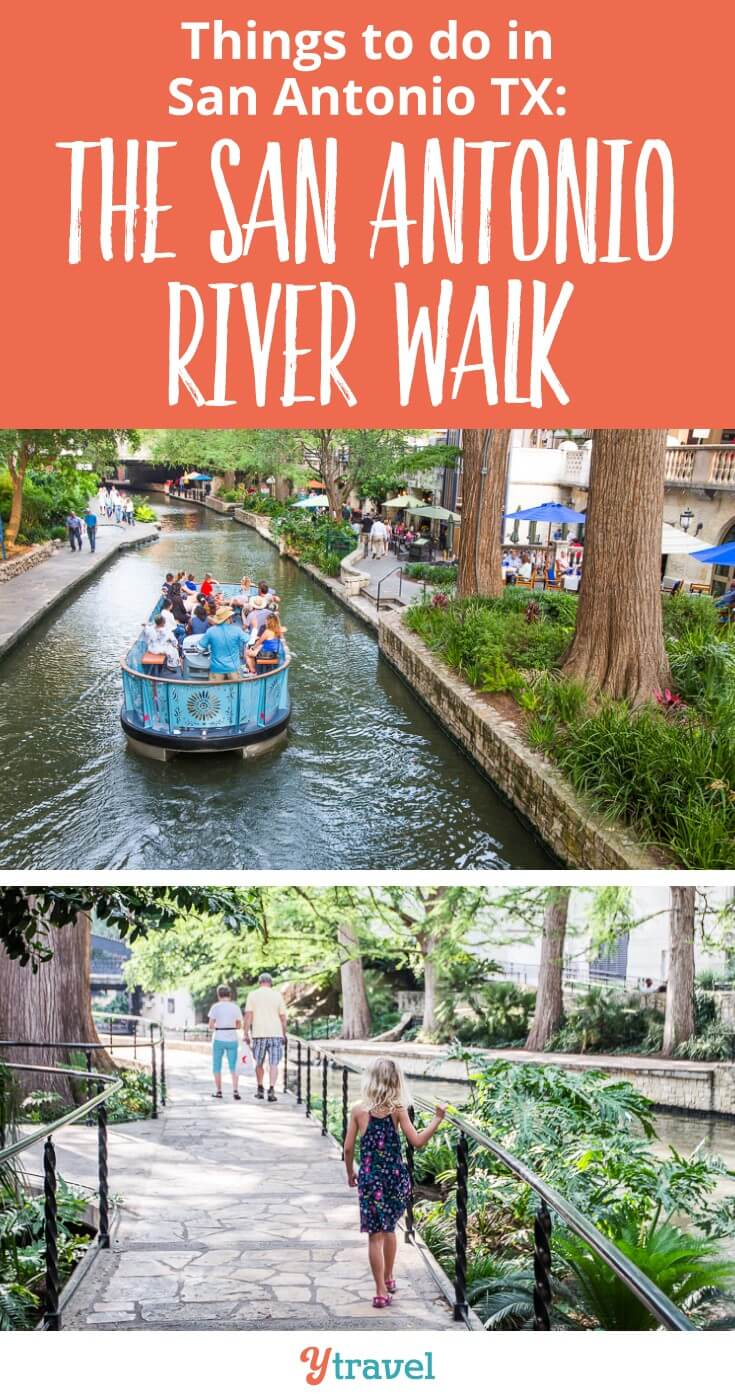 Things to do in San Antonio Texas with kids. Don't miss the San Antonio River Walk. IT's a gorgeous oasis in the middle of the hot city. The River Walk is one of my favorite city walks in the US. I was happy to take my parents on our US road trip from Dallas to Boston. Don't miss it.