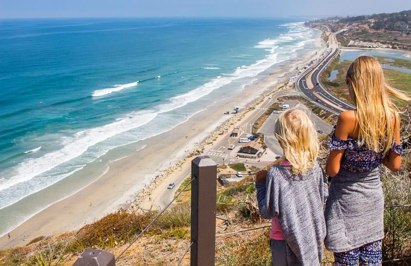 Torrey Pines coastal walk San Diego California