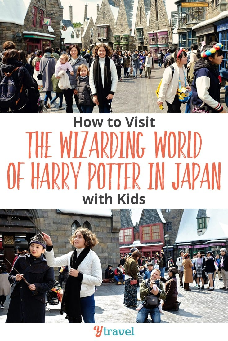 Universal Studios in Japan is home to the Wizarding World of Harry Potter. Click to read our guide on how you can gave a great time at Universal with kids. It's one of the best things to do in Japan with kids.