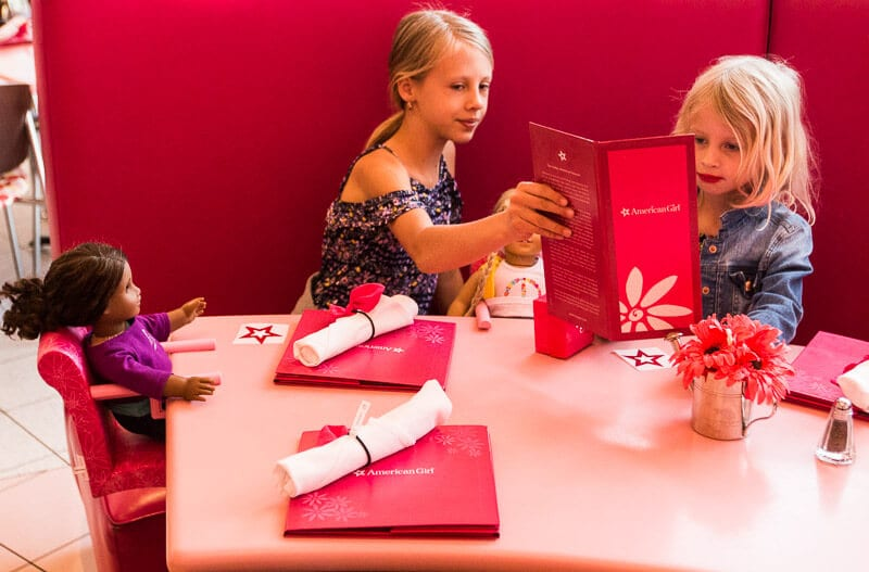 Magasin American Girl au Mall of America