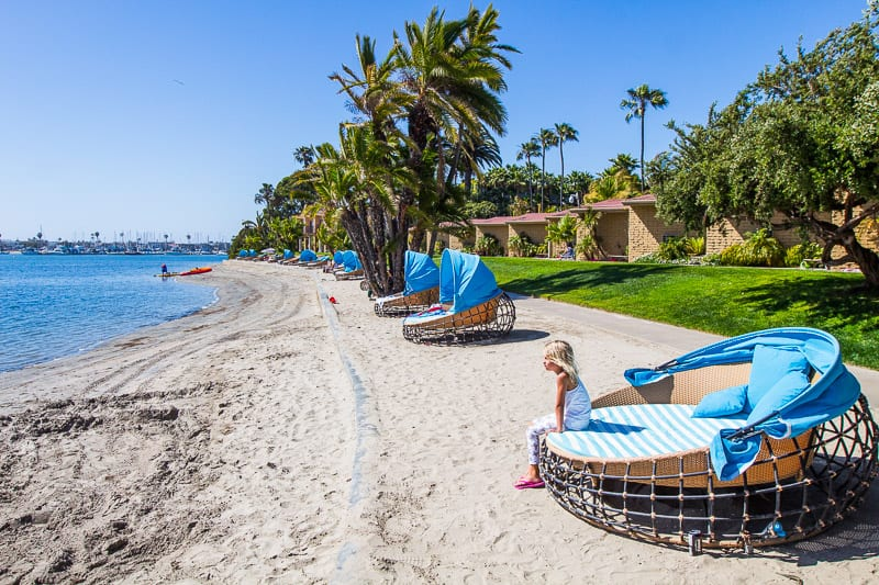 Bahia Resort Hotel, Mission Bay, San Diego, California