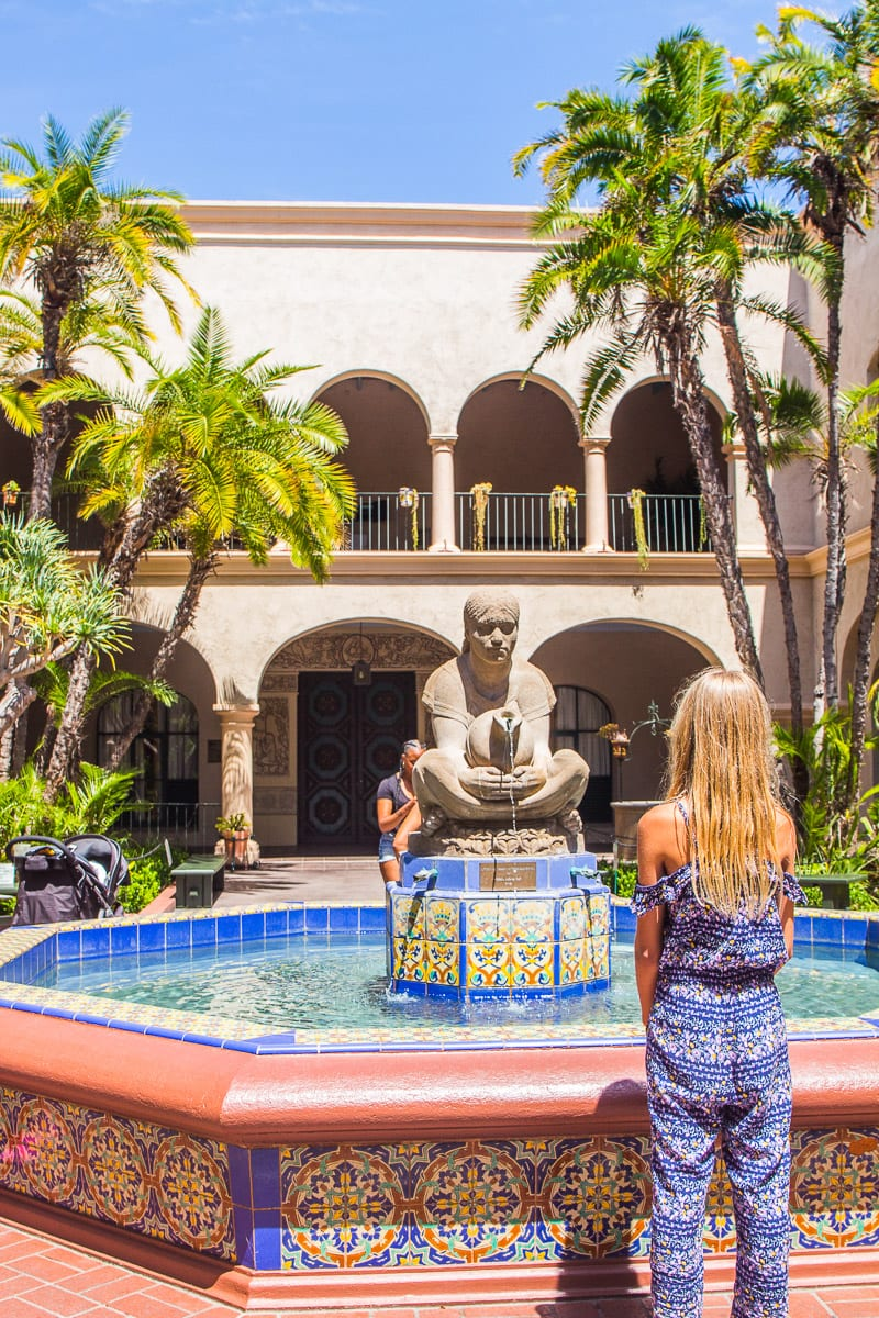 Balboa Park, San Diego, California - one of the best places to visit in California with kids