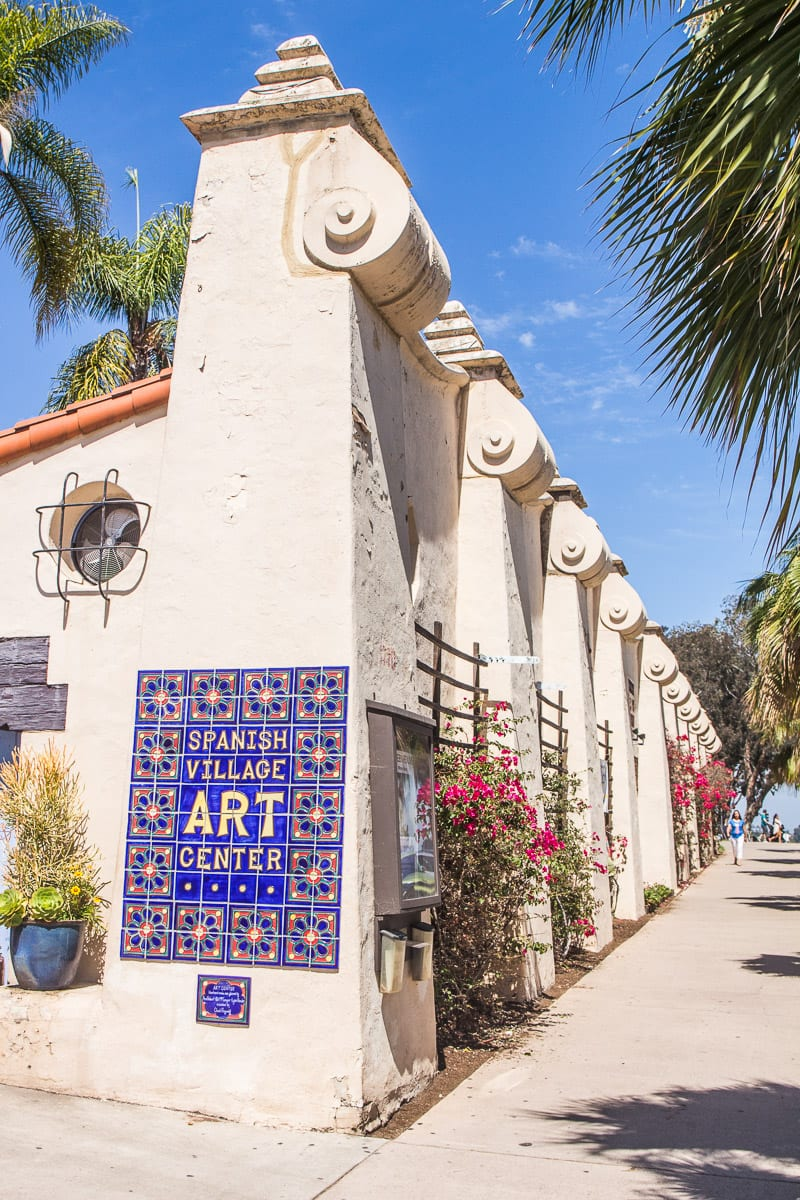 Spanish Village Art Center, Balboa Park, San Diego, California