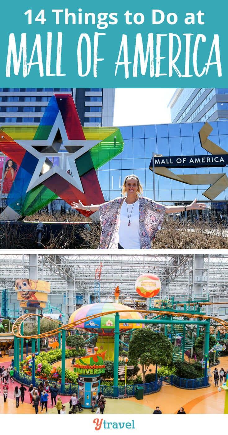 Rzeczy do zrobienia w Mall of America w Bloomington, Minnesota. Jeśli planujesz wycieczkę do Mall of America, oto 14 rzeczy do zrobienia w MOA, plus wskazówki, jak najlepiej wykorzystać czas tam spędzony, w tym gdzie się zatrzymać i zjeść!