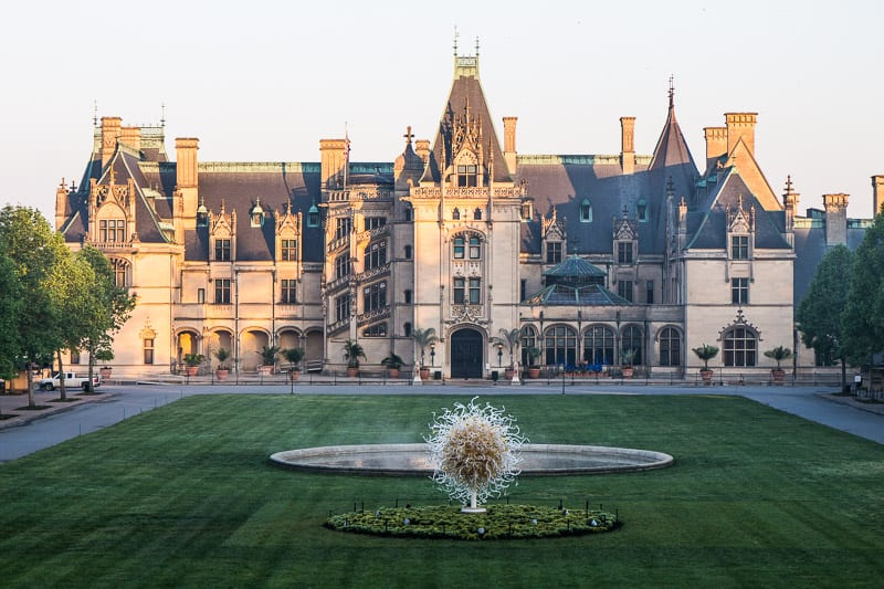 The Biltmore House ASheville North Carolina