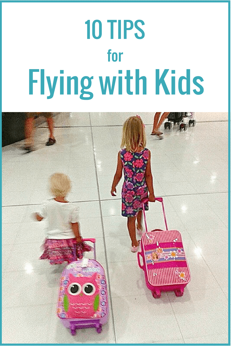 10 tips for flying with kids - how to survive an international flight with kids. You may even learn to enjoy flying with kids. We love it and these flying tips help a lot. What would you add? Happy pinning!