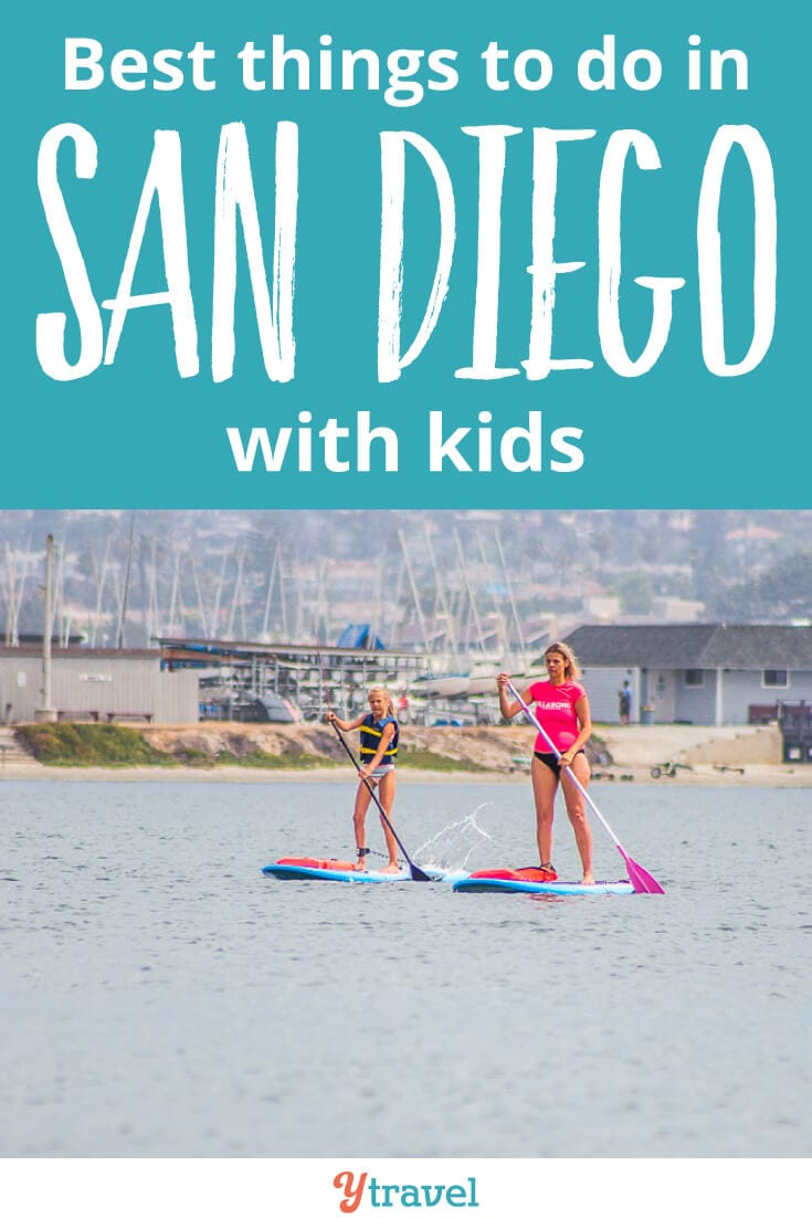 Best things to do in San Diego with kids. What a great family destination this Southern California city is. Check out this list of 16 things to do, plus where to eat, and where to stay in San Diego with kids!