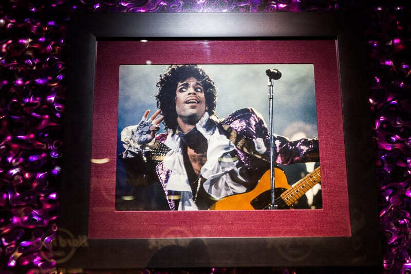 Prince - Hard Rock Cafe, Mall of America